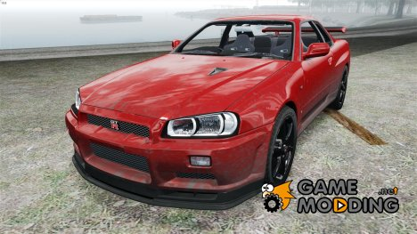 Nissan Skyline GT-R34 V-Spec II for GTA 4