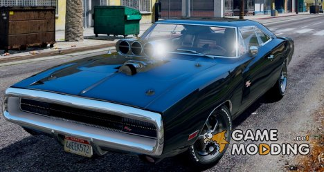 1970 Dodge Charger R/T 4.0 for GTA 5