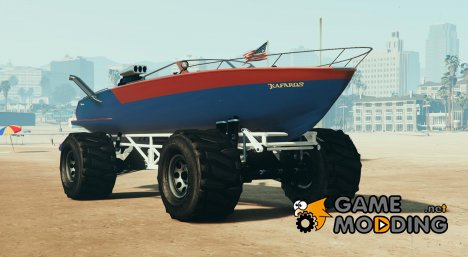 Boat-Mobile 2.0 for GTA 5