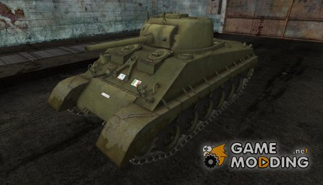 M4A2E4 от caprera for World of Tanks