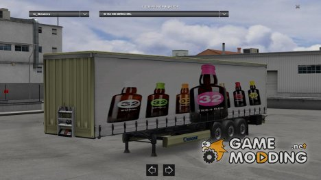 Marchi ITA Trailers Pack v 2.3 for Euro Truck Simulator 2