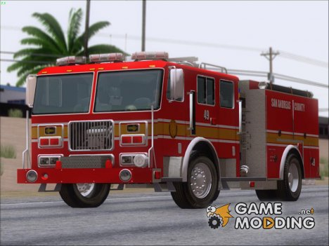 Seagrave Marauder I SACFD Engine 49 for GTA San Andreas