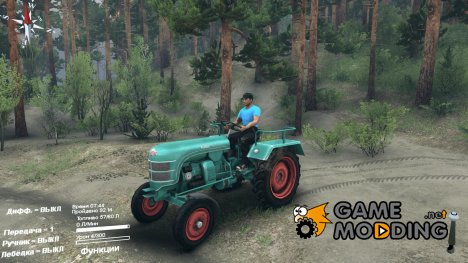 Kramer KL 200 for Spintires 2014