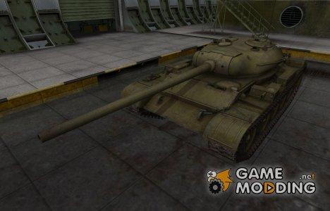 Шкурка для Т-54 в расскраске 4БО для World of Tanks