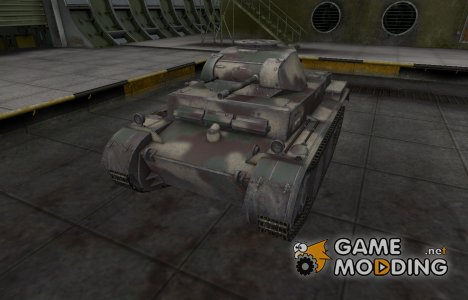 Скин-камуфляж для танка PzKpfw II Ausf. G для World of Tanks