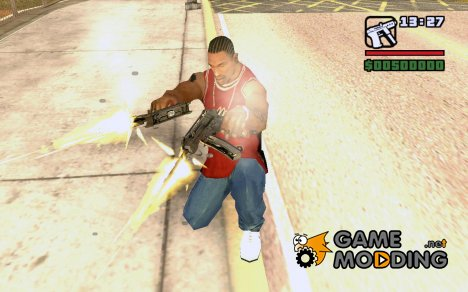 Skorpion из Call of Duty 4: Modern Warfare для GTA San Andreas