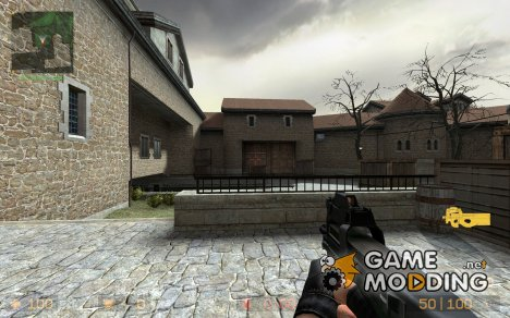 Black P90 для Counter-Strike Source