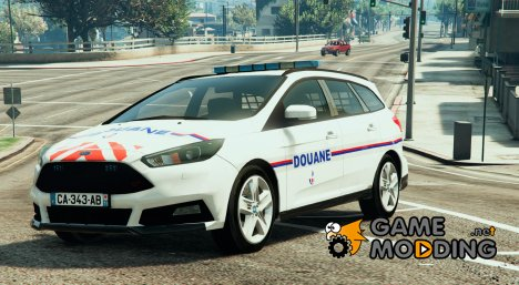 Ford Focus ST Estate 2015 Douane Française for GTA 5