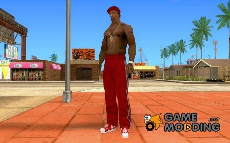 Red Chucks Convers Allstar для GTA San Andreas