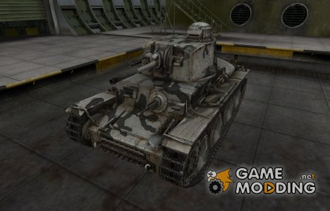 Шкурка для немецкого танка PzKpfw 38 (t) для World of Tanks