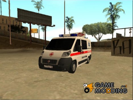 Fiat Ducato Ambulance for GTA San Andreas