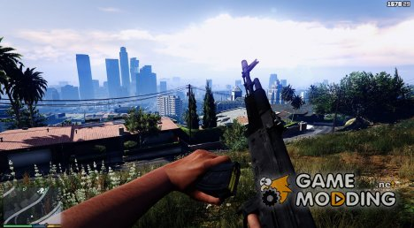 Battlefield 3 AK-74M for GTA 5