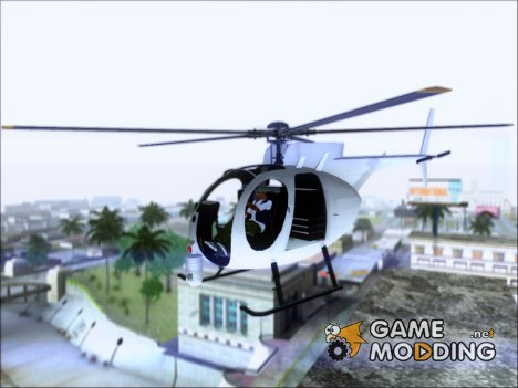 Buzzard Attack Chopper (from GTA 5) для GTA San Andreas