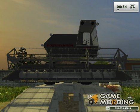 Niva Rostselmash for Farming Simulator 2013