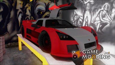 2M-Designs Gumpert Apollo for GTA San Andreas