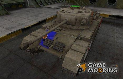 Качественный скин для Centurion Mk. I для World of Tanks