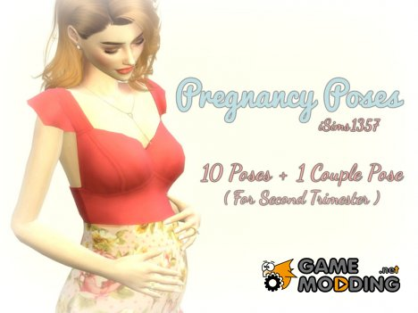Pregnancy Poses for Sims 4