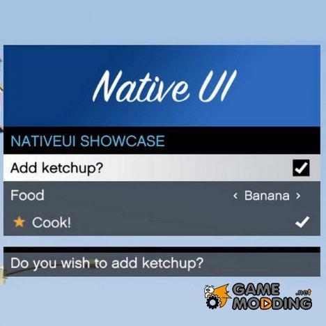 NativeUI 1.7 для GTA 5