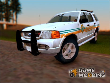 2002 Ford Explorer Bone County Sheriff's Office для GTA San Andreas
