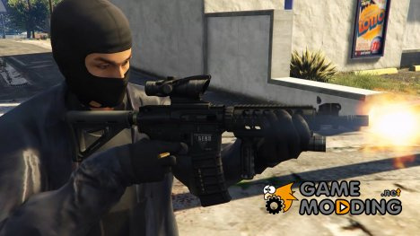 Tactical M4A1 CQB 1.0 for GTA 5