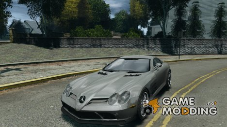 Mercedes-Benz McLaren SLR 722 v2.0 для GTA 4