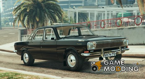 GAZ-24 Stock for GTA 5