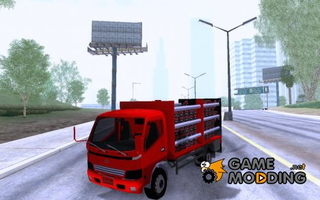 Toyota Truck Coca Cola Zero for GTA San Andreas