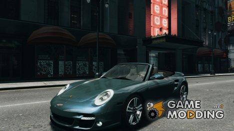 Porsche 911 Cabriolet 2010 for GTA 4