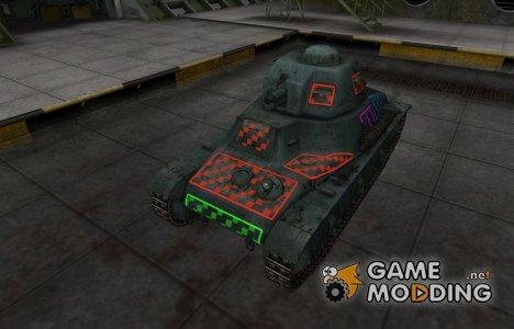 Качественные зоны пробития для Hotchkiss H35 для World of Tanks
