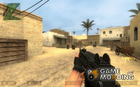 Crosis's UZI for Counter-Strike Source