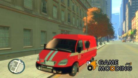 ГАЗель 2705 Пожарный Штаб for GTA 4