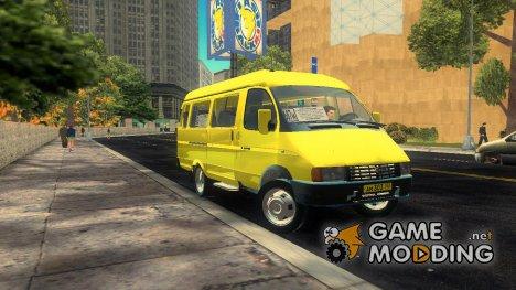 ГАЗ 32213 v 2.0 for GTA 3