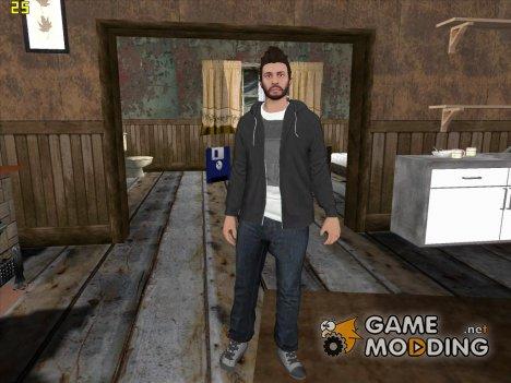 Skin HD GTA Online в толстовке для GTA San Andreas