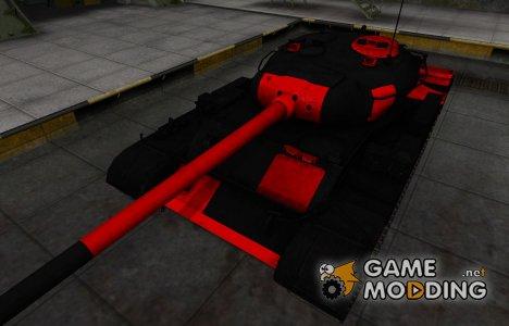 Черно-красные зоны пробития Т-54 для World of Tanks