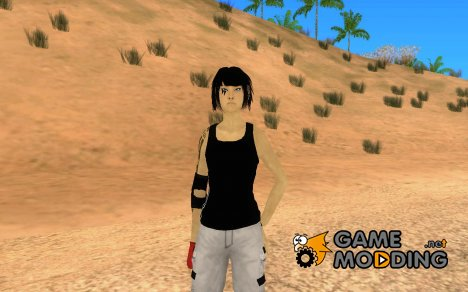 Mirrors Edge Faith для GTA San Andreas