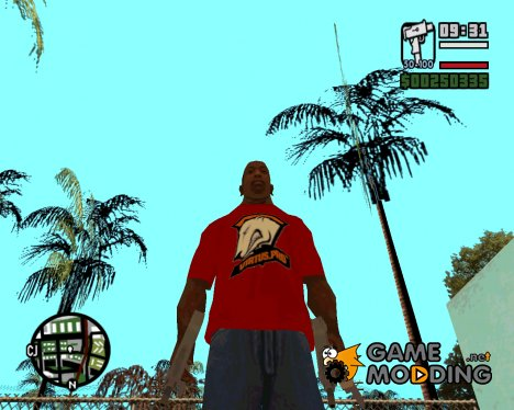 Virtus.pro T-shirt for GTA San Andreas
