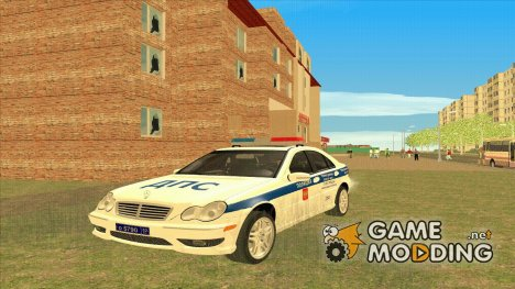 Mercedes-Benz C-class ДПС for GTA San Andreas