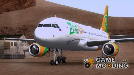 Airbus A320-200 Zest Air for GTA San Andreas