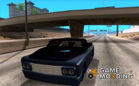 Slamvan Tuned for GTA San Andreas