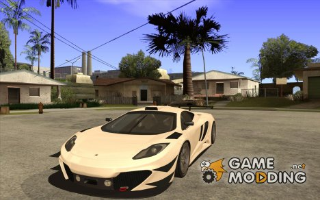 Покрасочные работы для McLaren MP4-12C Speedhunters Edition for GTA San Andreas