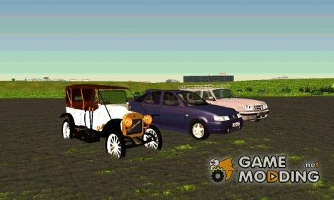 Автомобили для ГТА Криминальная Россия для GTA San Andreas