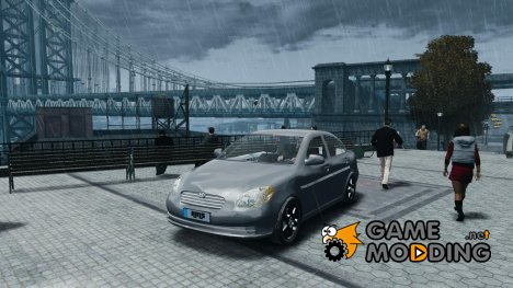 Hyundai Accent 2006 для GTA 4