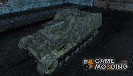 Hummel 07 for World of Tanks
