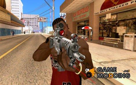 Винтовка с лазерным прицелом для GTA San Andreas