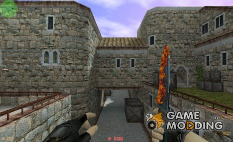 Fire Knife для Counter-Strike 1.6