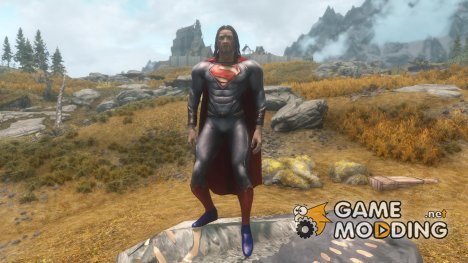 Man of Steel Suit for TES V Skyrim