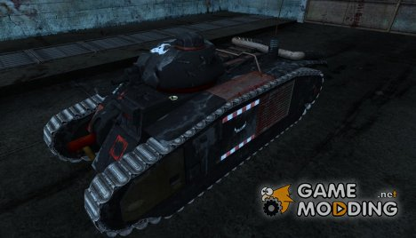 Шкурка для B1 (Вархаммер) для World of Tanks