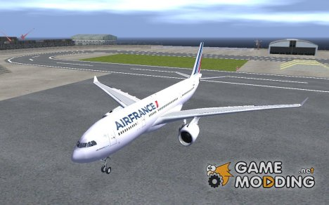 Airbus A330-200 Air France for GTA San Andreas