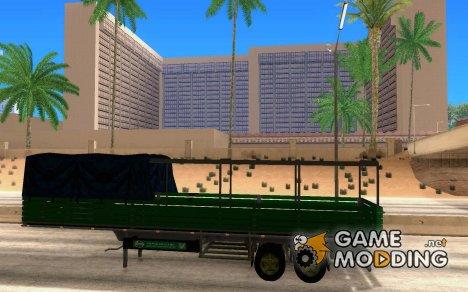 Русский Прицеп для КамАЗа для GTA San Andreas