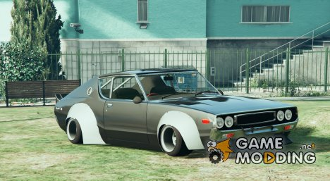 1972 Nissan Skyline GT-R HT for GTA 5